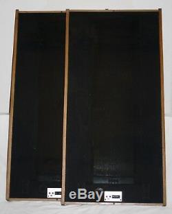 2 Vintage Magnepan Magneplanar Model SMG Loudspeaker Floor Standing Speakers