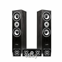 5.0 Surround Sound Speaker System Hi-Fi Home Movie Theatre Tower Floor Standing