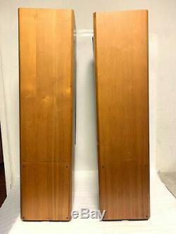 ADS L1290 4-Way Walnut Floorstanding Tower Speakers Great