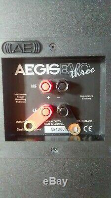 Accoustic Energy AE Aegis 3 floor standing speakers (pair) very good condition