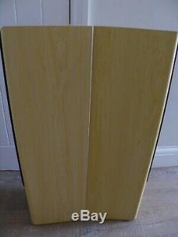 Acoustic Solutions AV-120 MKII Floor Standing Beige HiFi Speakers Superb Sound