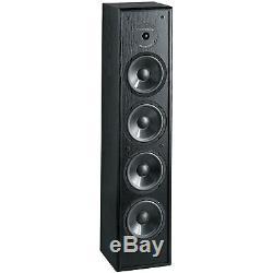 BIC Venturi DV84 8 Tower Speaker Black