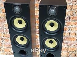BOXED! Bowers & Wilkins B&W 684 S2 Bi-Wire Black Floor Standing Loud Speakers