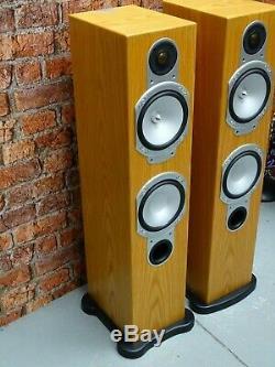 BOXED! Monitor Audio Silver RS6 Hi Fi Separate Use Floor Standing Loud Speakers