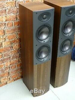 BOXED! Pair Of Mordaunt Short Aviano 6 Bi-Wire Floor Standing Loud Speakers
