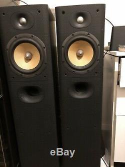 B&W 602.5 S3 floor standing speakers