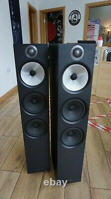 B&W 603 Floor Standing Speakers Soft black with 2 year warranty