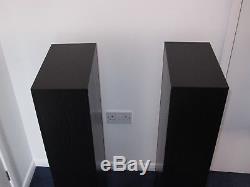 B&W 683 S2 Floorstanding Speakers Black Ash