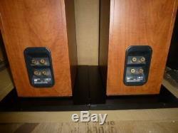 B&W 684 Audiophile British Floor Standing Speakers-Spiked-Superb Sound