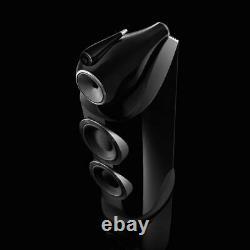 B&W 800 D3 Floor Standing Speaker Pair Gloss Black CTI NIN-0783