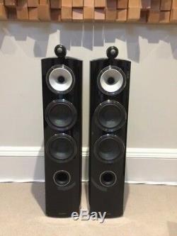 B&W 804D3 Floor-standing Speakers Gloss Black