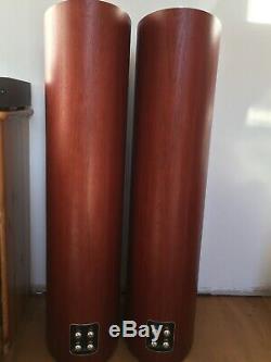 B&W 804D3 Floor-standing Speakers rosenut
