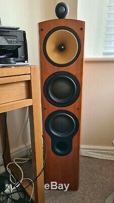 B&W 804S Cherry. B And W, Bowers & Wilkins 804S Cherry Floorstanding Speakers