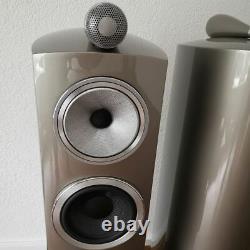 B&W 804 D3 Floor Standing Speaker Pair Mystic Open box NIN-1290