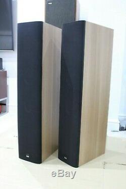 B&W Bowers & Wilkins 683 Floor standing Speakers bi-wire bass reflex