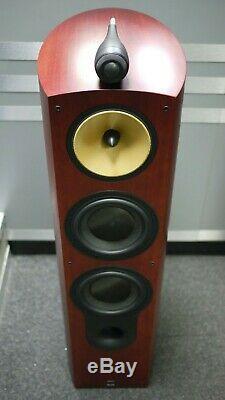 B&W (Bowers & Wilkins) 803s Floorstanding Speakers in Rosenut Preowned