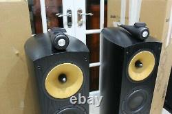 B&W Bowers & Wilkins 804S floor standing stereo loud speakers