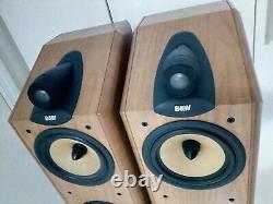 B&W Bowers & Wilkins CDM-7NT Speakers. Original Full Set