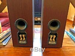 B&W (Bowers & Wilkins) CM7 Floor Standing Speakers In Wenge (Walnut)