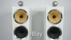 B&W Bowers and Wilkins CM10 S2 Floorstanding Speakers Original Boxes WHITE