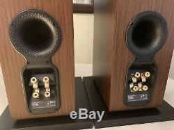 B&W Bowers and Wilkins CM8 150W Wenge Wood Floor Standing Speakers System