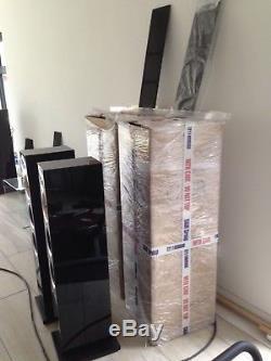 B&W (Bowers and Wilkins) CM8-S1 Floorstanding Black Gloss Speakers