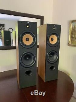 B&W Bowers and Wilkins DM603 Floor Standing Speakers System pristine mint