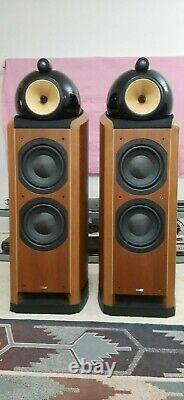 B+W (Bowers and Wilkins) Nautilus 802 Floor Standing Speakers. Used. VGC