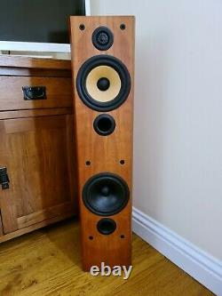 B&W Bowers and Wilkins Preference 5 Floor standing Speakers in cherry wood