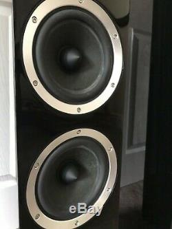 B&W CM8 Bowers and Wilkins 150W Piano Black Floor Standing Speaker System