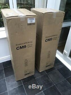 B&W CM9 S2 Bowers and Wilkins Floor Standing Speakers Audiophile