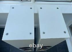 B&W CM9 S2 White 200W Bowers Wilkins Standing Speakers