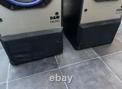 B&W DM330 100W Bowers Wilkins Floor Standing Speakers Audiophile England Made