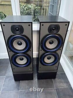 B&W DM330i 100W Bowers Wilkins Floor Standing Speakers Audiophile England Made