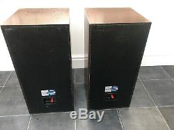 B&W DM4 Dark Brown Bowers and Wilkins Floor Standing Speakers Audiophile