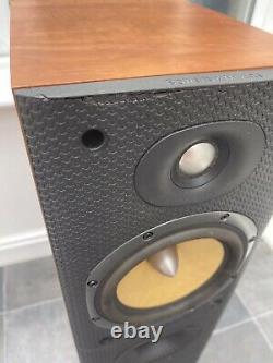B&W DM602.5 S3 Cherry Wood Bowers Wilkins Standing Speakers Audiophile England