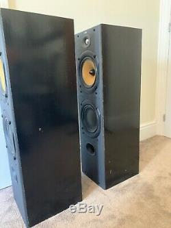 B&W DM603 S2 150W Bowers & Wilkins Floor Standing Speaker System Black