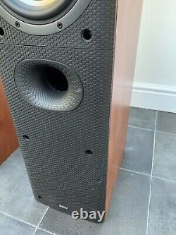 B&W DM603 S3 150W Bowers Wilkins Floor Standing Speakers Audiophile England made