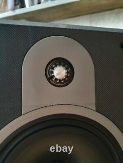 B&W DM620 Bowers Wilkins 150W Floor Standing Speakers Audiophile With Grills