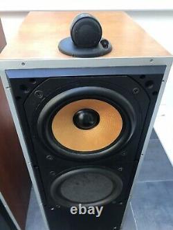 B&W DM7 MKII Bowers and Wilkins Floor Standing Speakers Audiophile England UK
