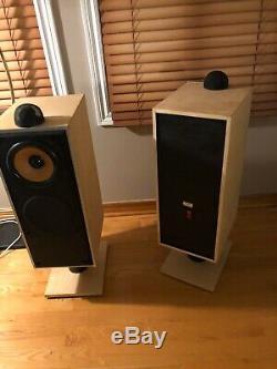 B&W Floor Stand Speakers DM7 Mk2 Rare