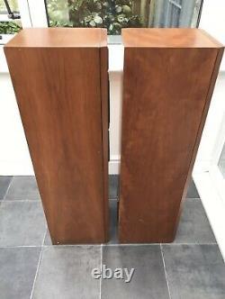 B&W P4 100W Brown Bowers Wilkins Floor Standing Speakers Audiophile England UK