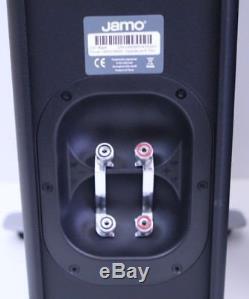 Beautiful Pair Jamo C97 3-Way Concert Series Floor Standing Speakers (Black)