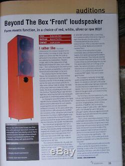 Beyond The Box Floor Standing Vifa Logic Speakers PAIR (NEW & BOXED) RRP1100