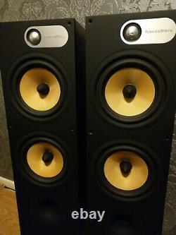Bowers And Wilkins 684 Stereo Hi-fi Home Cinema B&W Floorstanding Speakers
