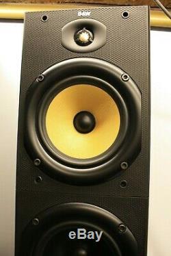 Bowers And Wilkins B&w Dm603 Pair Floorstanding Main Stereo Speakers Black