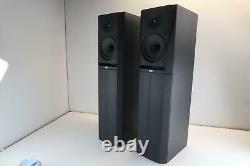 Bowers And Wilkins DM305 Retro Floor Standing Hifi Speakers B&W DM-305