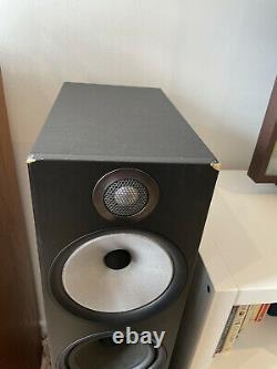 Bowers & Wilkins 603 Floor Standing Speaker Pair Black B&W