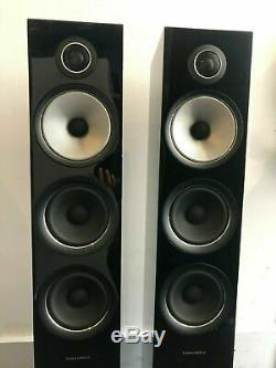 Bowers & Wilkins 704 S2 Floorstanding speakers, Pair, Gloss Black