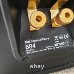 Bowers & Wilkins B&W 684 Floor standing stereo speakers